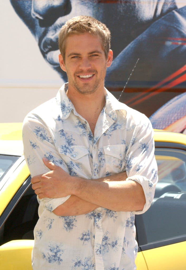 Paul Walker promoted 2 Fast 2 Furious in Madrid in June 2003.