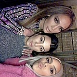 Jennifer Lopez and Kim Kardashian Taco Wednesday Party 2017