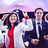 Guests Dancing at the Reception