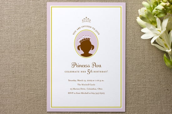 Princess Children's Birthday Party Minted