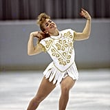 Harding at a US figure skating competition in 1992.
