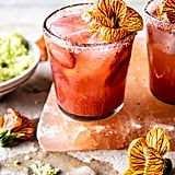 Strawberry Hibiscus Ginger Margarita