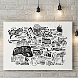 A Quirky Map of Edinburgh