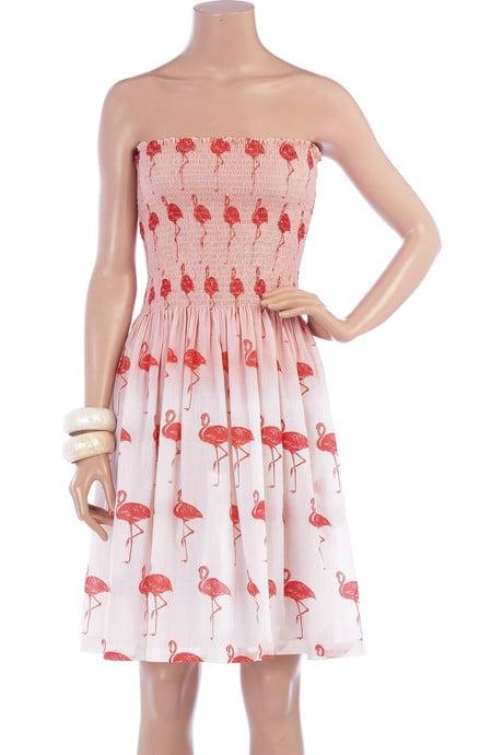 Tara Matthews Flamingo print dress