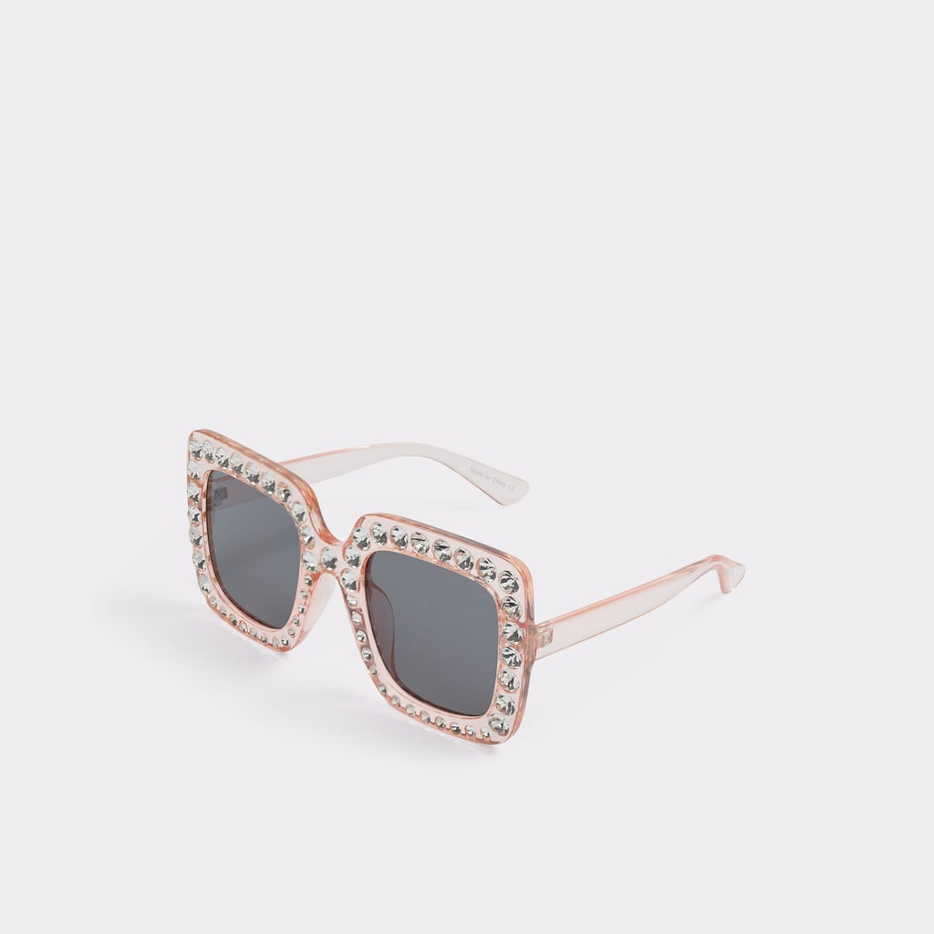 9ef390a0e5 Aldo Boers Light Pink Women s Square Sunglasses