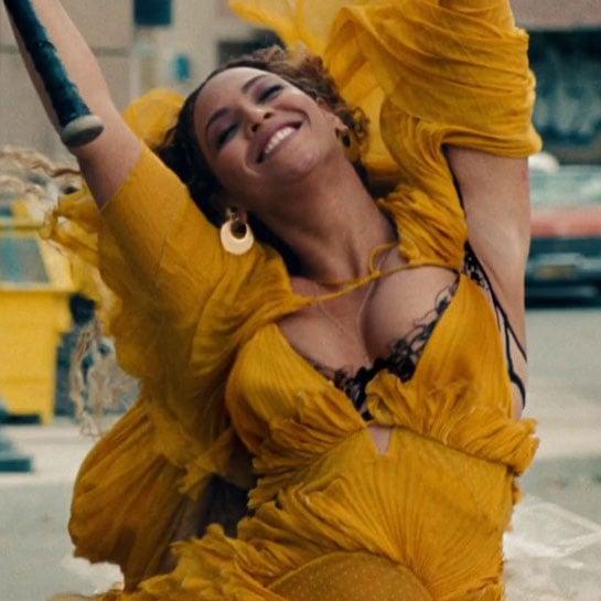 Beyonce's Yellow Dress in Lemonade Video