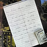 """The best hangover note I've ever read."" Source: Reddit user cheeseburgercat via Imgur"