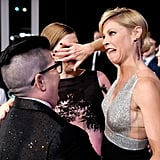 Pictured: Julie Bowen and Lea DeLaria