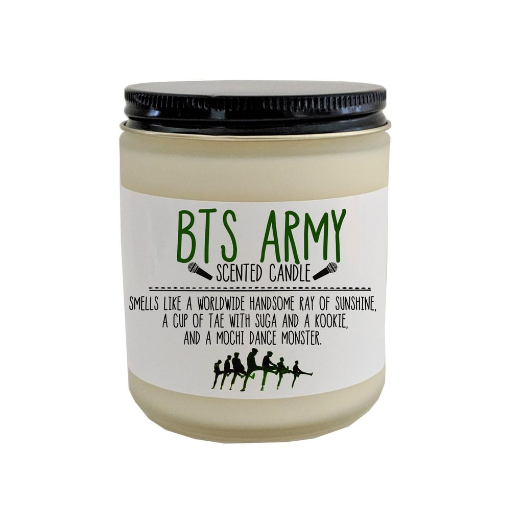 This BTS Army Candle Smells Like Sugar Cookies