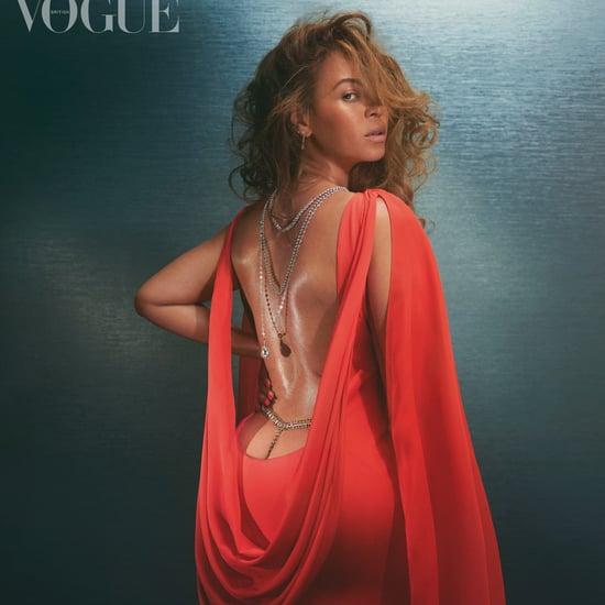 Beyoncé Wears Christopher John Rogers Gown For British Vogue