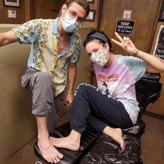Halsey and Her Boyfriend Got Matching Tattoos Last Summer