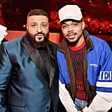 Pictured: DJ Khaled and Chance the Rapper