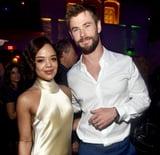 Chris Hemsworth Tessa Thompson's Black