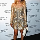 Pip Edwards at a Louis Vuitton even in 2011