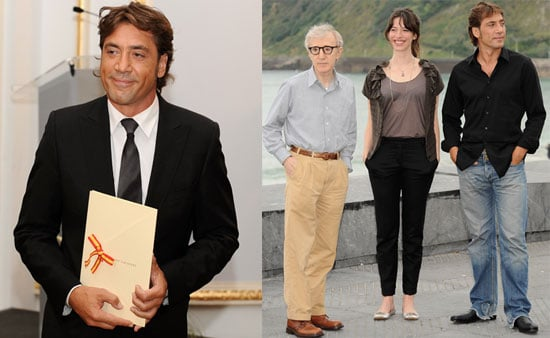 Photos of Javier Bardem at the 56th San Sebastian Film Festival