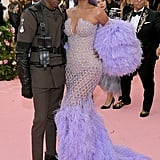 Travis Scott at the 2019 Met Gala