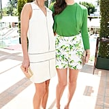 Jordana Brewster and Emmy Rossum