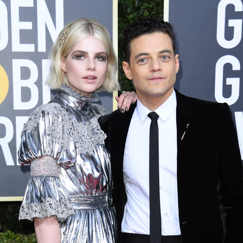 Lucy Boynton's Eye Makeup at the 2020 Golden Globes