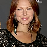 Laura Prepon let her red hair take center stage at Entertainment Weekly's pre-Emmys party.