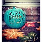 Happy Halloween Carved Pumpkin