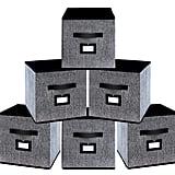 Onlyeasy Foldable Cloth Storage Bins
