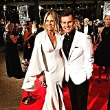 Sonia Kruger and David Campbell