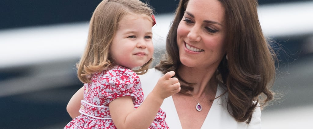 Princess Charlotte Just Rocked the Hell Out of Her Uncle Harry's Hand-Me-Down Shoes