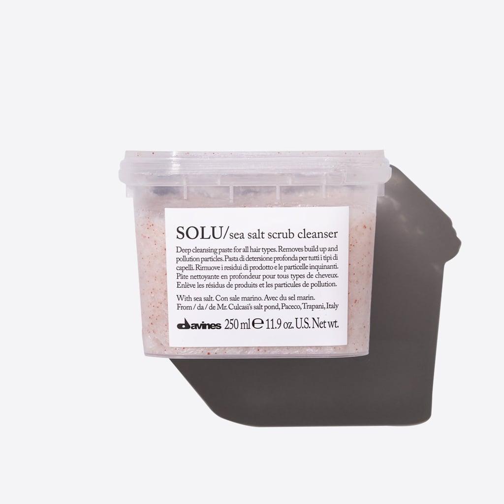 Best Scalp Scrub: Davines Solu Sea Salt Scrub Cleanser
