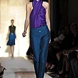 Yves Saint Laurent Spring 2012