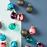 Miniature Metallic Ornaments, Set of 24