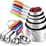 U-Taste 10 Piece Measuring Cups and Spoons Set