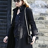 Kate Moss Has a Calm Lunch Despite Her Always Colorful Life