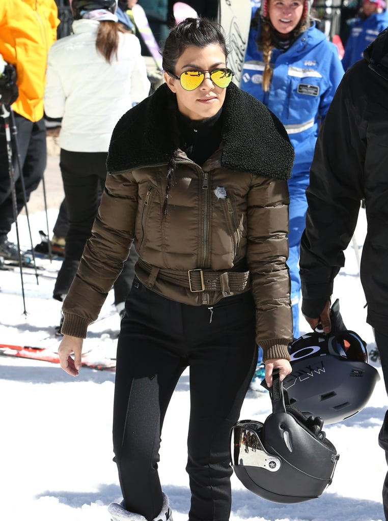 """The Kardashian-Jenner family fled LA's warm weather to enjoy a snow-filled vacation in Vail, CO, this week, and quite frankly, it looks like they're having a whole lot of fun. On Tuesday, Kourtney, Khloé, Kylie, and Scott Disick hit the slopes and went skiing, while Kendall took up snowboarding instead. Meanwhile, Kim opted for some quality time with daughter North West and took to Instagram to share a cute photo of Penelope Disick, Khloé, and North looking adorable in matching braids. The following day, Kris and boyfriend Corey Gamble were spotted out and about, as well as Kim and Kanye West, who rode snowmobiles with friends. The brood's trip comes amid exciting news for Rob, who recently got engaged to Blac Chyna. While the family has yet to comment on the controversial engagement, Blac's BFF Amber Rose showed support for the newly engaged couple, posting a sweet message on Instagram that read, """"Congratulations to my Family @blacchyna and @robkardashian!!! Please don't let nothing or no one tear u guys apart!"""" Keep reading for more photos, and then find out how the Kardashians really made their millions."""