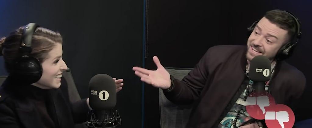 Justin Timberlake and Anna Kendrick Talk About Billie Eilish