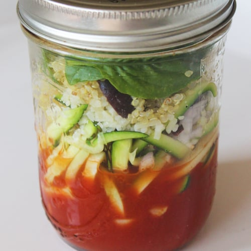 Italian-Style Quinoa Noodle Soup