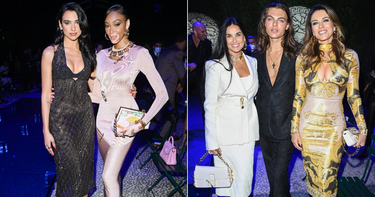 """The Versace by Fendi — or """"Fendace"""" — Front Row Taps Dua Lipa, Niall Horan, and Elizabeth Hurley.jpg"""