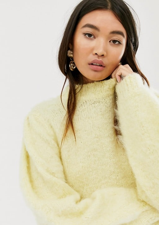 ASOS Design Fluffy Sweater