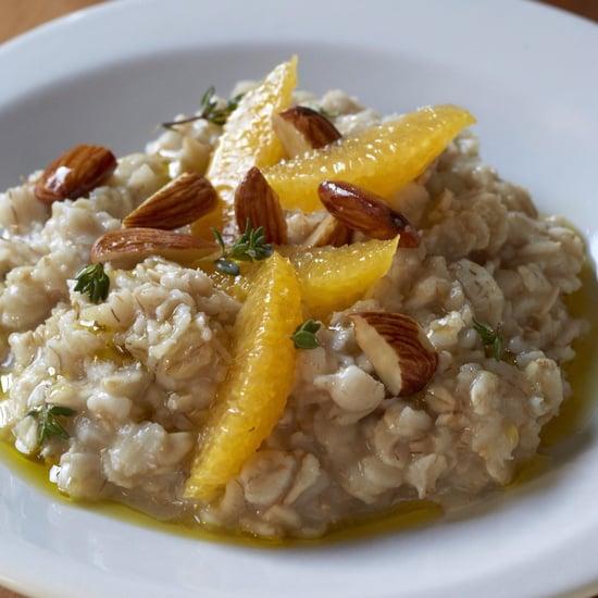 Giada De Laurentiis's Savory Oatmeal Recipe