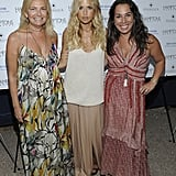 Rachel Zoe with friends Debra Halpert and Samantha Yanks.