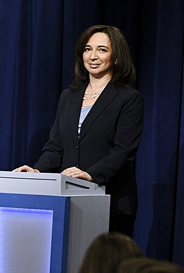 "Maya Rudolph in SNL's ""DNC Town Hall"" Skit Video"