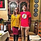Amy and Sheldon From Big Bang Theory