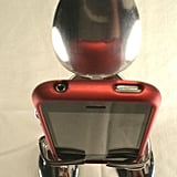 Photos of the iSpoon iPhone Stand