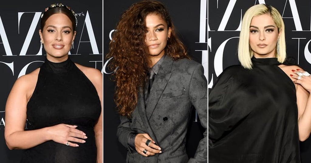 Zendaya, Ashley Graham, and More at Harper's Bazaar Party