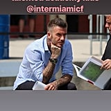 David Spent Some Time With Inter Miami CF