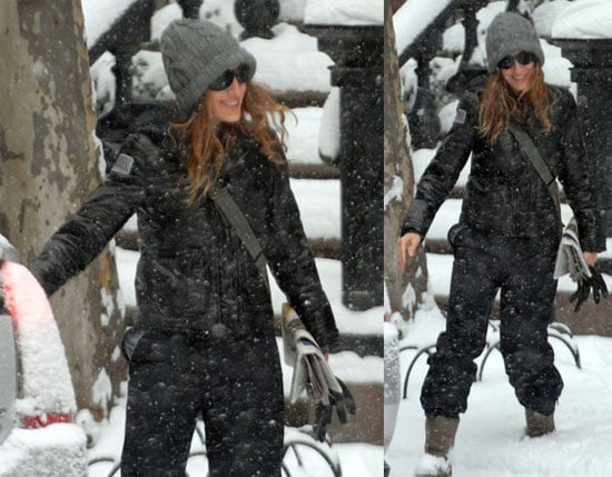 SJP in Winter Wonderland