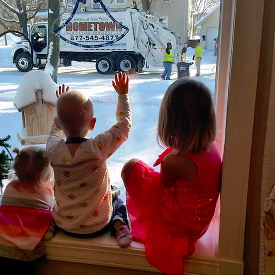 Garbagemen Surprise Family of Little Girl With Cancer