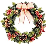 Burlap and Berries Wreath