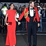 Prince Harry and Meghan Markle at Mountbatten Music Festival