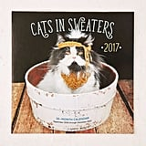 Cats in Sweaters 2017 Wall Calendar