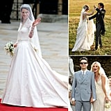 It's common knowledge that celebrities and designers go hand in hand — and when it comes to a star's special day, they tend to call on the couturiers closest to them to help craft their wedding gown. POPSUGAR Fashion rounded up 14 of their favorite custom-made wedding gowns and the designers behind them.